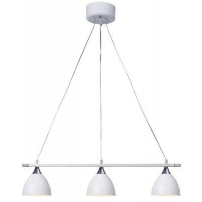 Lexi taklampe - Hvit/Krom