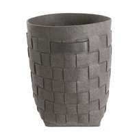 Vaskekurv i filt med håndtak - grå