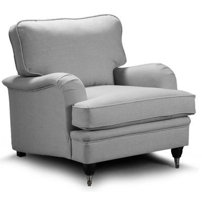 Howard Oxford lenestol - lys grå