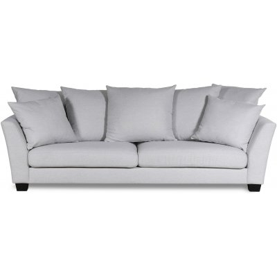 Arild 3-seter sofa med konlvoluttputer - Offwhite lin