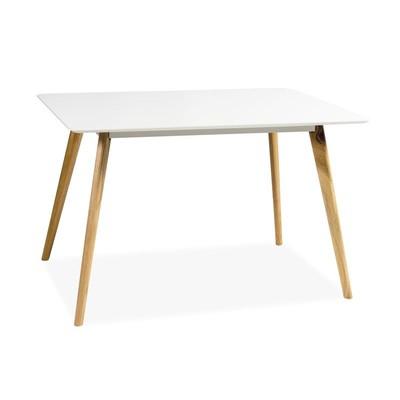 Spisebord Linköping 120 cm - Eik/hvit