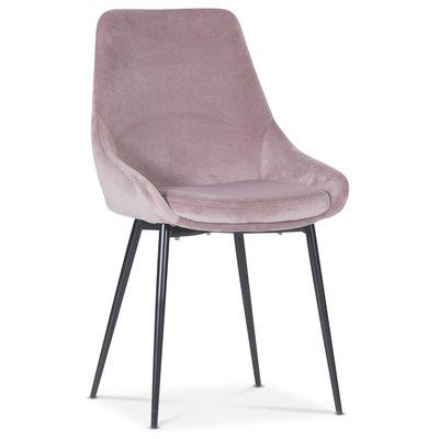 Theo stol - Rosa fløyel