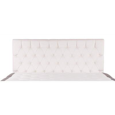 White Dream sengegavl inkl veggfest - 180 cm