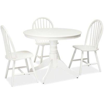 Spisebord Spartanburg 100ø cm - Hvitt