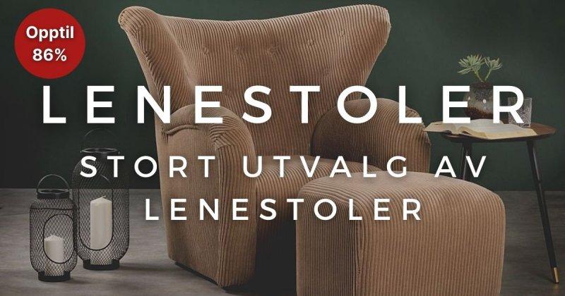 Lenestoler - Opptil 86%