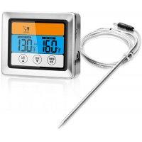 Basis steketermometer - Blank/svart