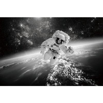 Glassbilde Cosmonaut - 120x80 cm