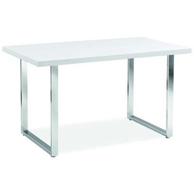 Spisebord Columbus 130 cm - Hvit