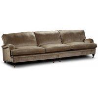 Howard Luxor rett sofa XL 300 cm - Valgfri farge og stoff