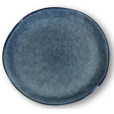 Keramikk tallerkener 4 stk i et sett - Blå