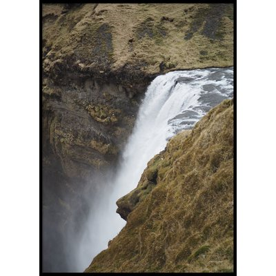 SKÓGAFOSS ICELAND - Plakat 50x70 cm