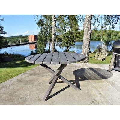 Scottsdale spisebord rundt 112 cm -Shabby Chic