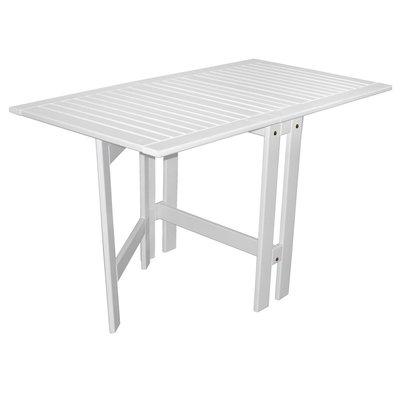 Flipper foldbart bord - Hvit