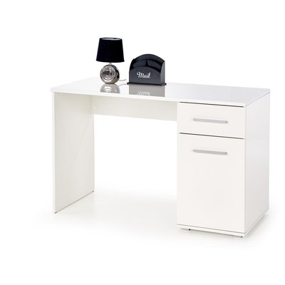 Abdel skrivebord - Hvit