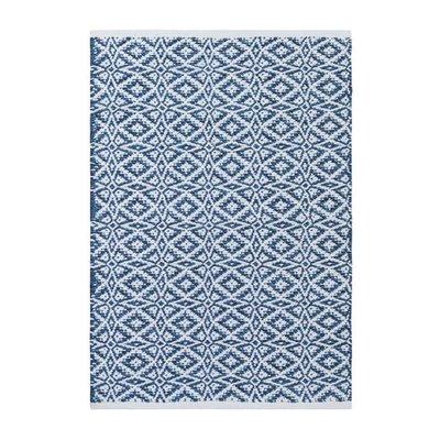 Bomullsmatte Davinna - Blå
