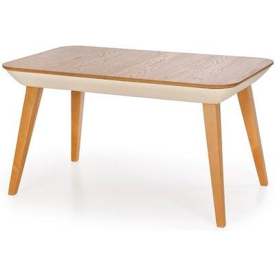 Wilbur spisebord uttrekkbart - Beige/honning eik
