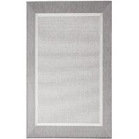Flatvevd / glattvevd teppe - Bodega - lys grå