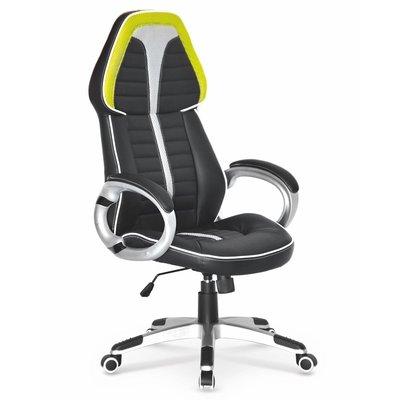 Madeleine kontorstol - Svart/grønn