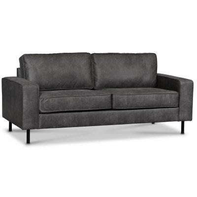 Sandö 2,5-seter sofa - Antrasitt Økolær