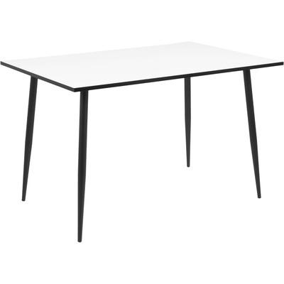 Wilma spisebord - Hvit/svart
